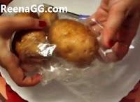Boiled Potato In Microwave step 3