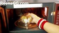Boiled Potato In Microwave step 4