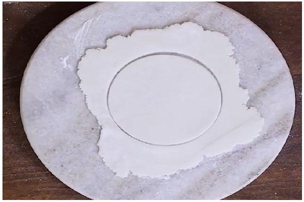 plain rice roti step 5