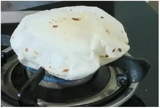 plain rice roti step 7