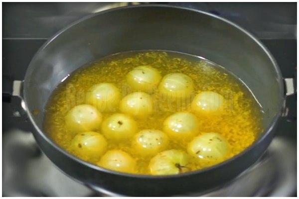 amla pickle recipe step 1