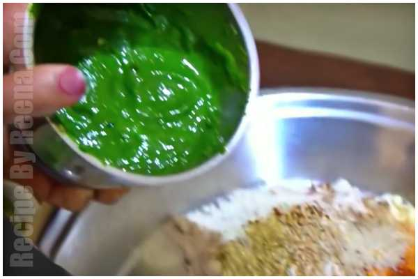 bathua paratha recipe step 3