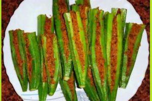 bhindi ki bharwan sabji