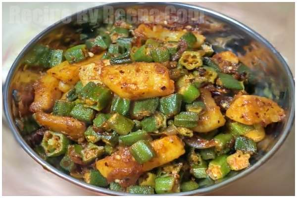 Aloo Bhindi Fry step 6