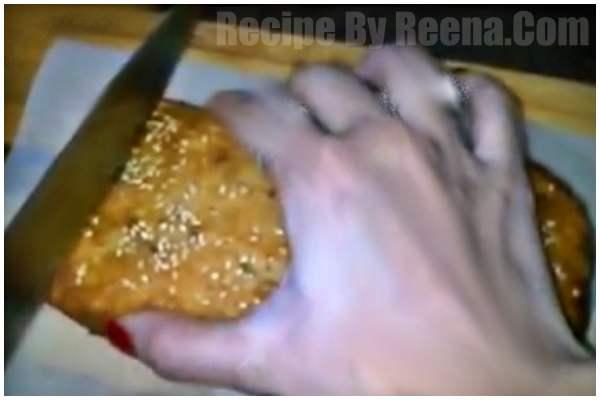 kadhai men bread ka cake step 11