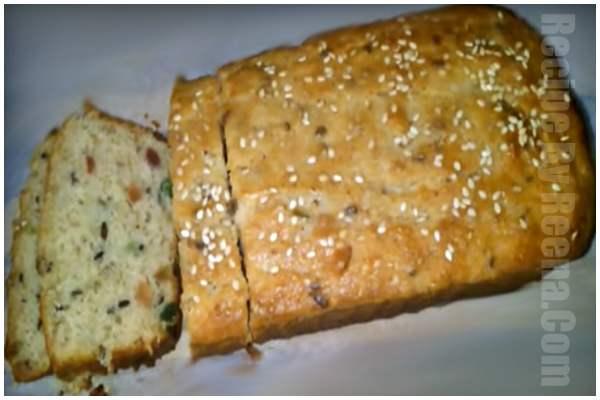 kadhai men bread ka cake step 12
