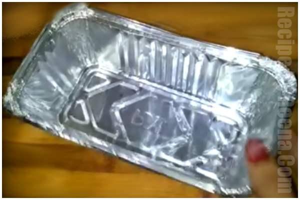 kadhai men bread ka cake step 2