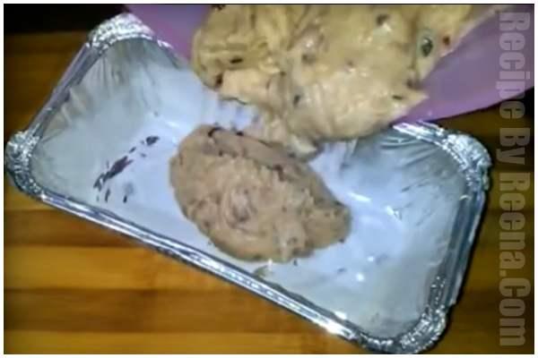 kadhai men bread ka cake step 7