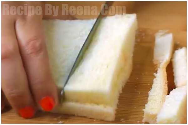 Bread Kesar Kulfi step 1