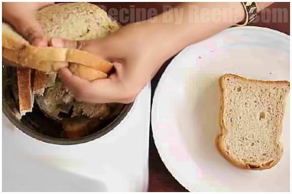 bread ki mithai step 1