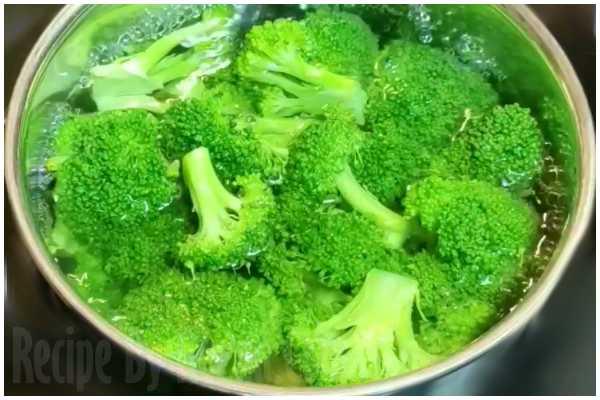 broccoli recipe step 1