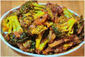 broccoli recipe step 7