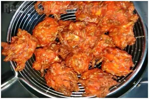 Chinese cabbage Pakoda 5