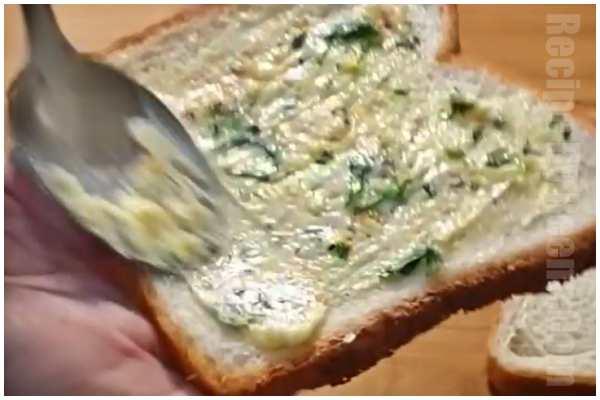 garlic bread step 3