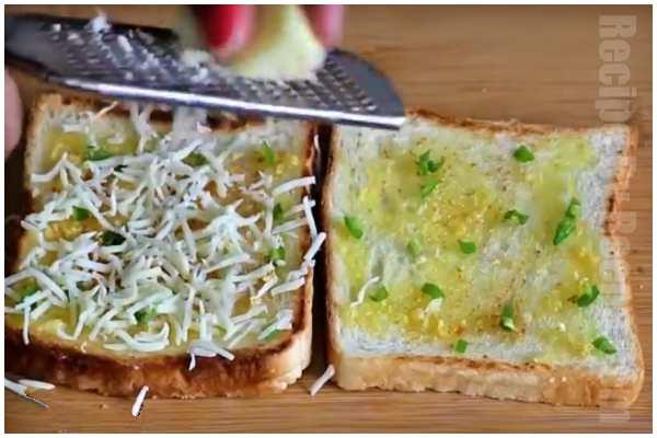 garlic bread step 4