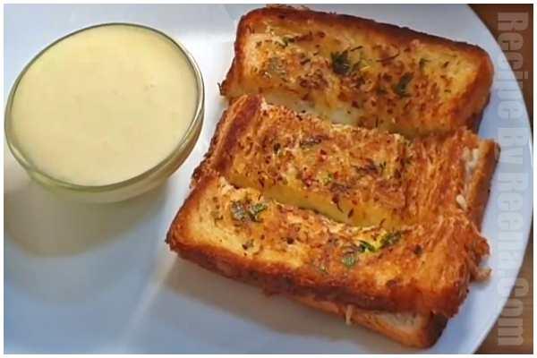 garlic bread step 7