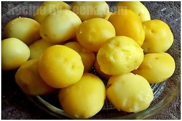 Bengali Aloo Dum Recipe 1