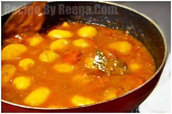 Bengali Aloo Dum Recipe 6