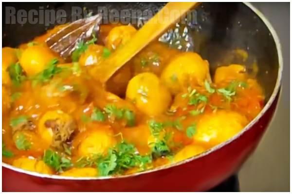 Bengali Aloo Dum Recipe 8