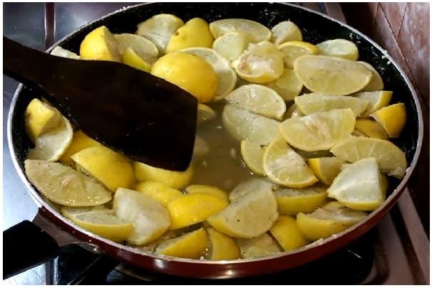 lemon jaggery pickle step 3.5