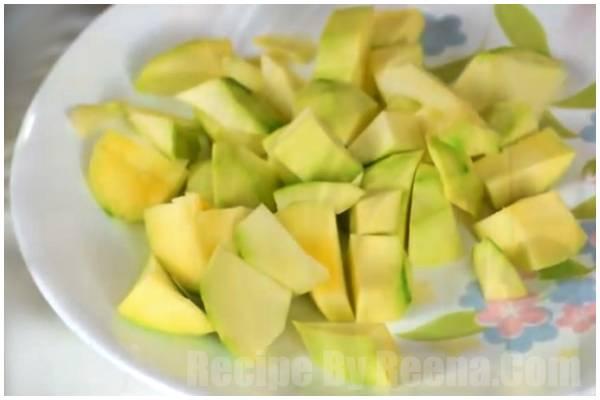 Mango chutney step 2