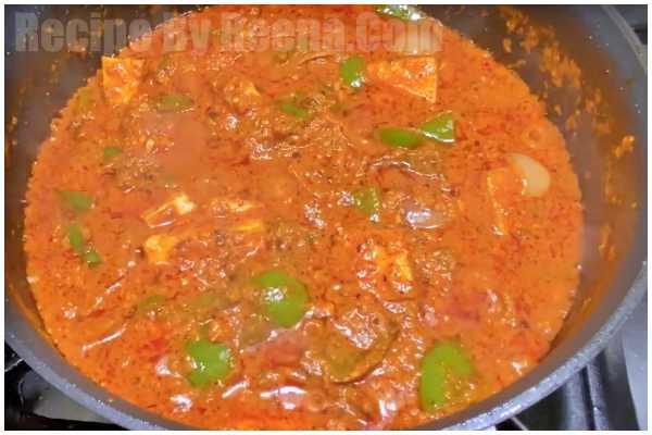 Spicy Paneer Recipe 7