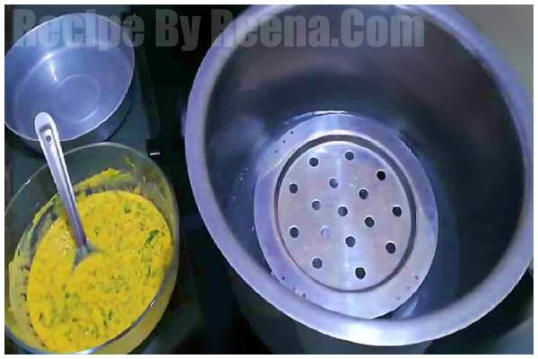 kothamveer vadi recipi step 3