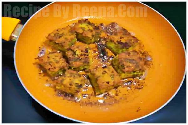 kothamveer vadi recipi step 6