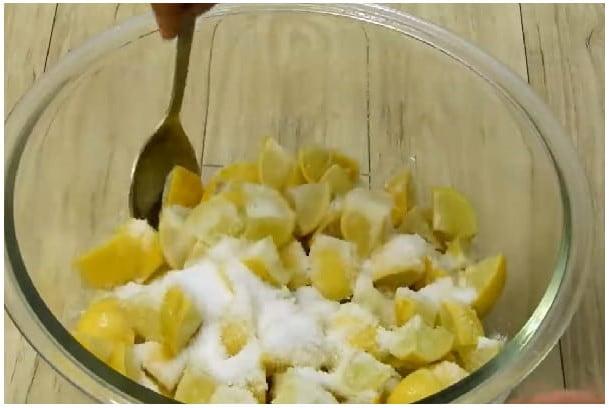 sweet lemon pickle step 2