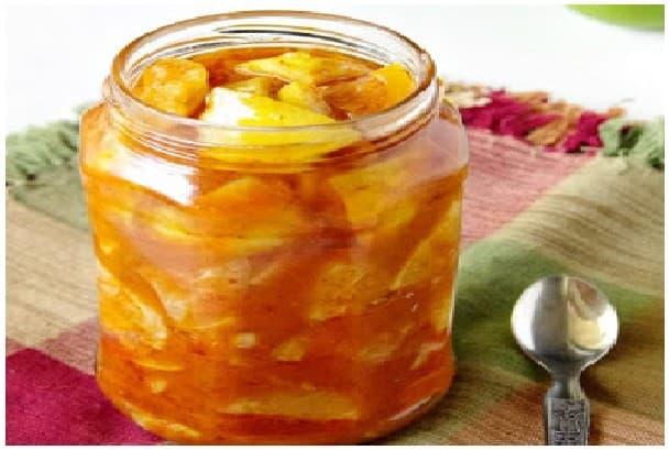 sweet lemon pickle step 3