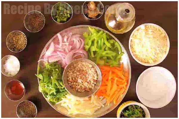 mix veg pkode recipe 1