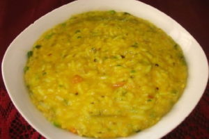 Nutritious lentils polenta
