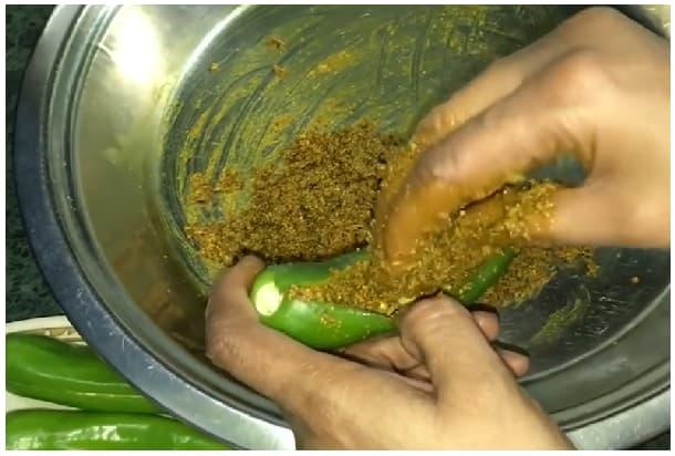 bharwa mirch achar step 6