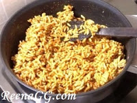 puffed rice ladoo step 6