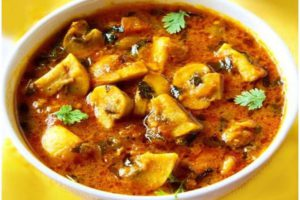 indian mushroom Recipe