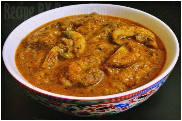 indian mushroom Recipe step 8