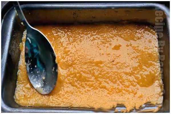 mysore pak recipe step 5