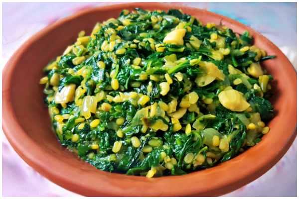 palak bhaji fry