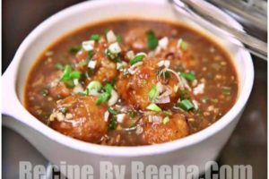manchurian recipe in hindi