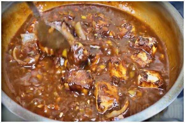manchurian recipe step 9