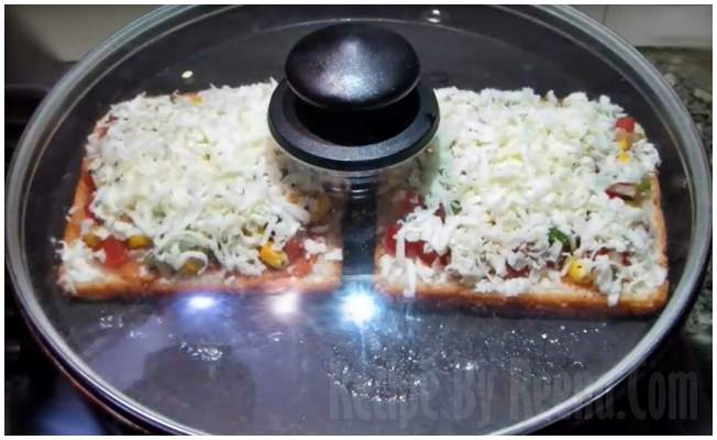home made pizza step 7