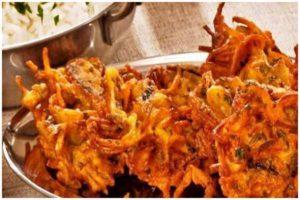 onion pkora recipe