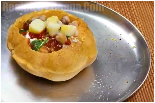raj kachori recipe step 4