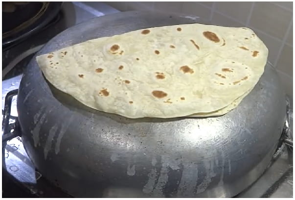 Roomali Roti Step 5