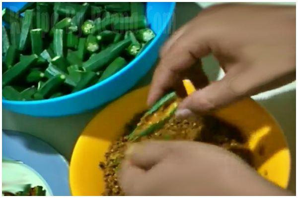 stuffed bhindi 5