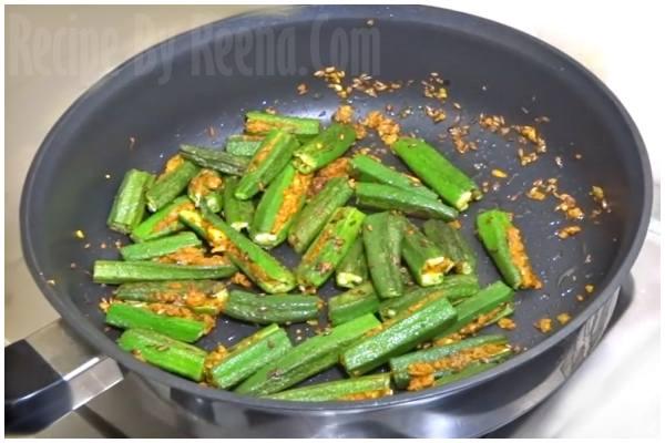 stuffed bhindi 6