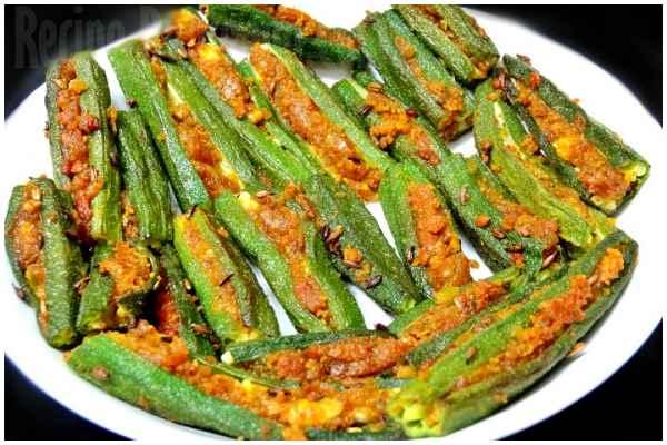 stuffed bhindi 8