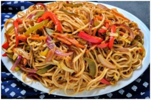 veg chow mein hindi recipe